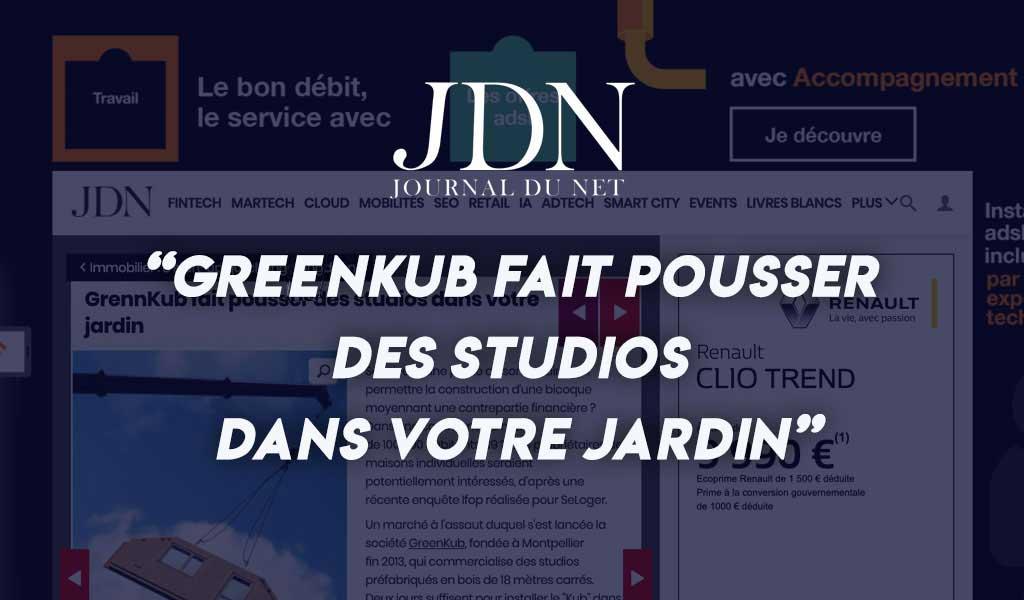 Greenkub fait pousser des studios dans votre jardin