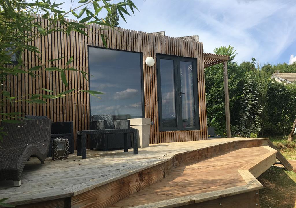 Aménager une extension de maison de 20m2 - Greenkub