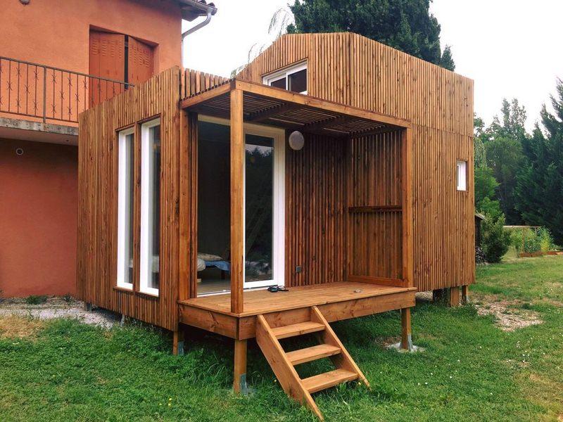 bureau studios jardin 25m2 mezzanine GK25M toulouse