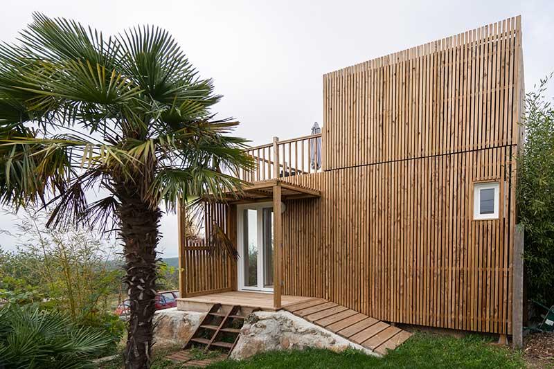 facade studio jardin