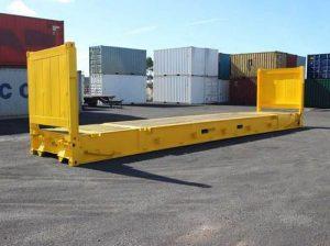 Conteneur maritime Flat rack