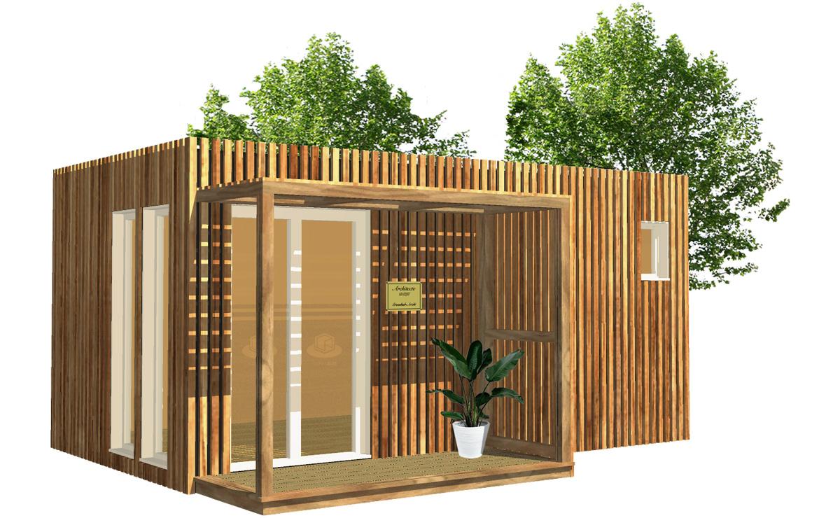 Bureau de jardin