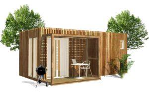 Studio de jardin de 15 ou 20 mètres carrés
