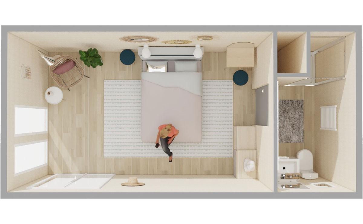 Aménager Un Petit Jardin De 20M2 studio de jardin en bois, 20m²