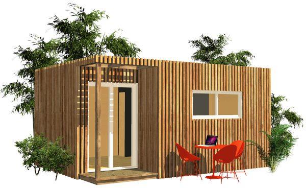 Lodge en bois Greenkub