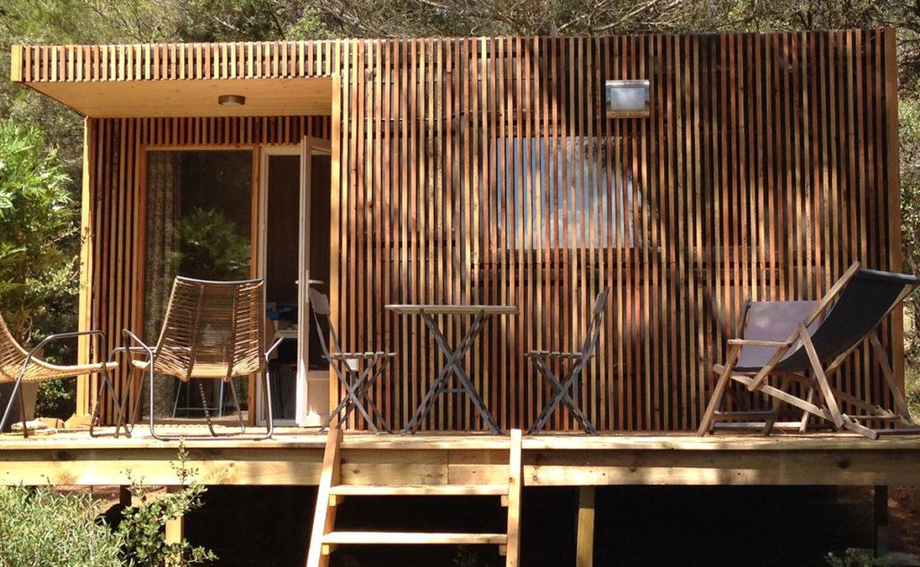 Lodge Greenkub extérieur