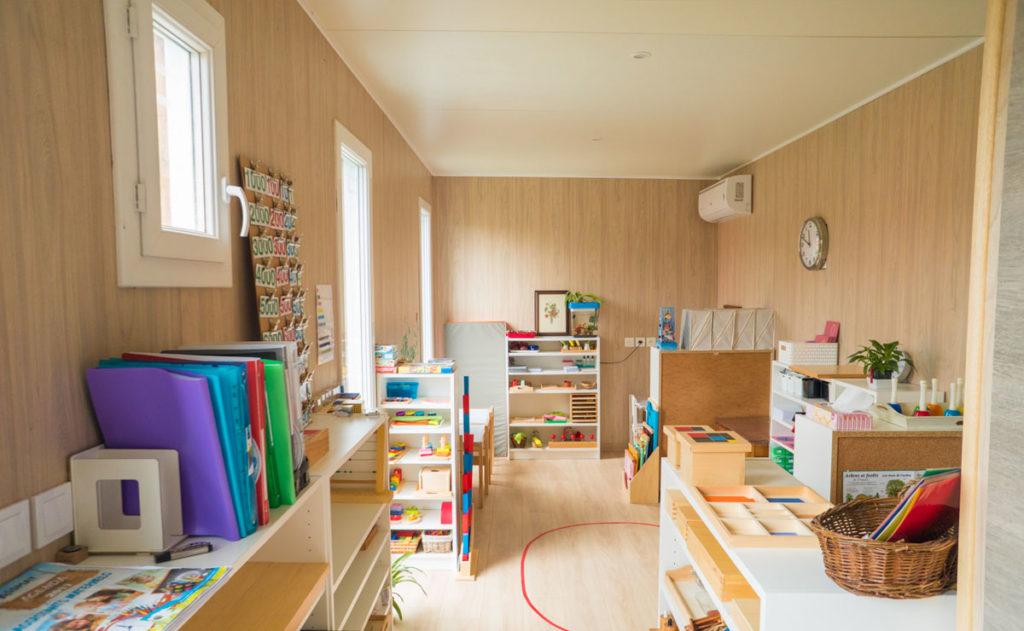 Studio de jardin en bois : Salle de jeux - pièce principale