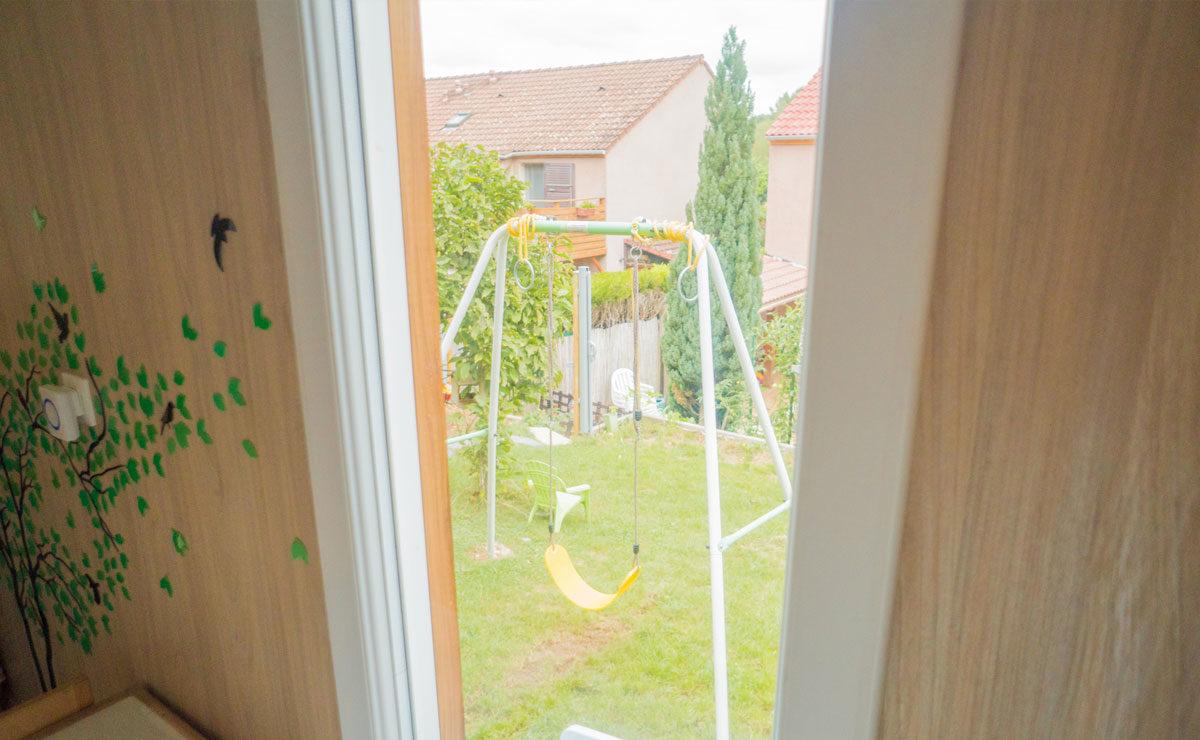 Studio de jardin en bois : Salle de jeux - extérieur