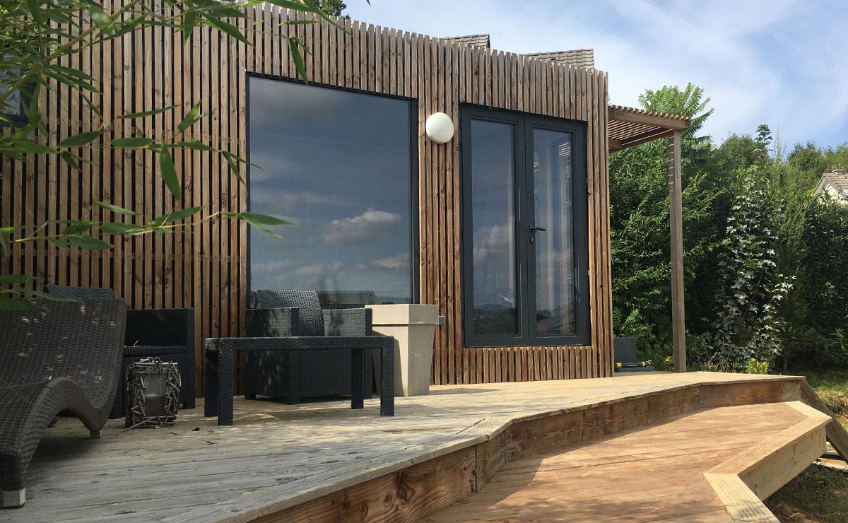 Greenkub : studio de jardin de 20 m² sans permis de construire