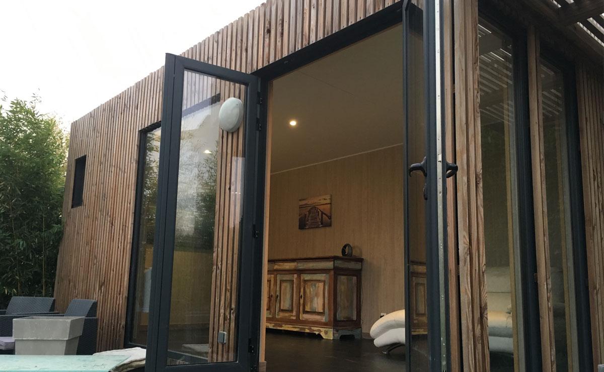 Studio de jardin en bois de 15 à 20m2 Greenkub