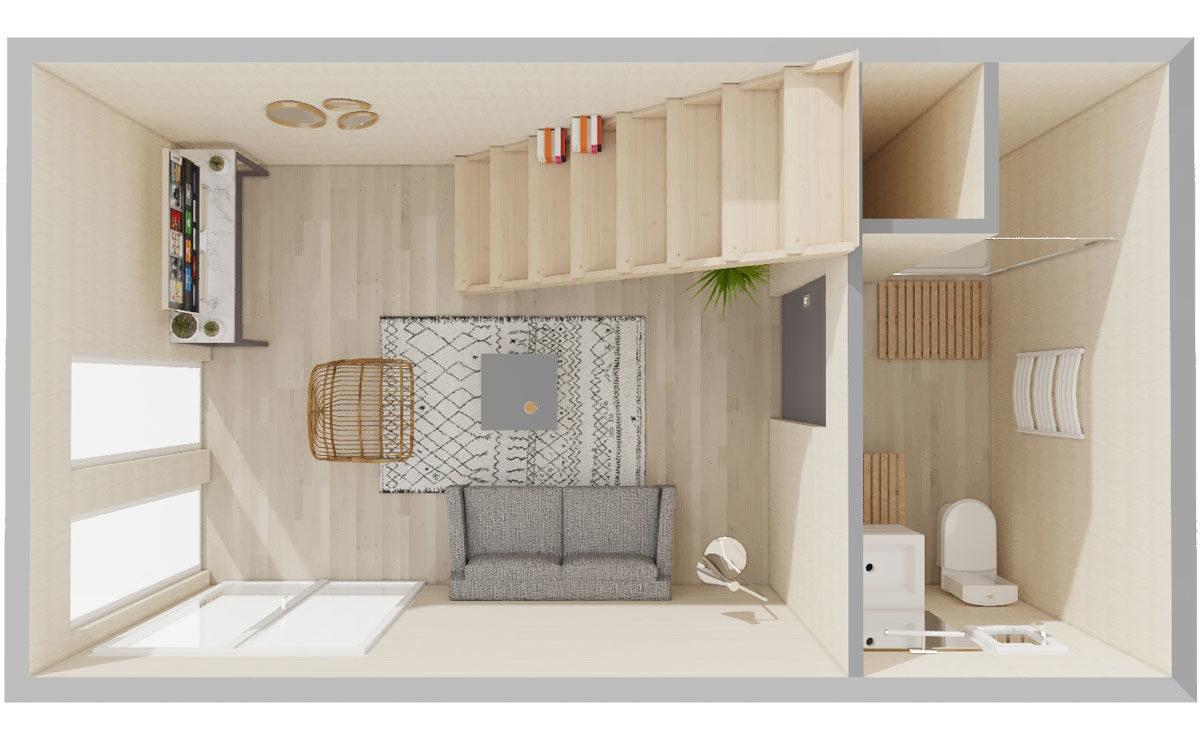 Studio avec terrasse tropézienne