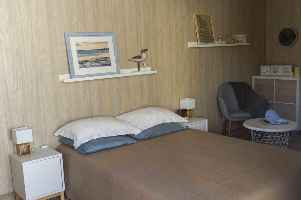 lit hotel 15m² suite greenkub chambre d'amis