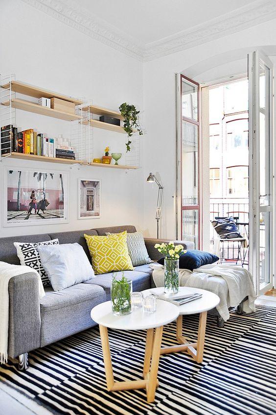 minimalisme rangement studio