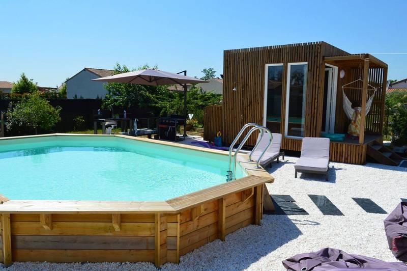 poolhouse piscine studios jardin 20m2 GK20 gironde