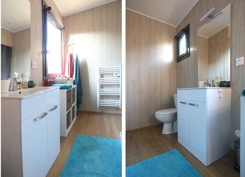 salle de bain lavabo suite chambre