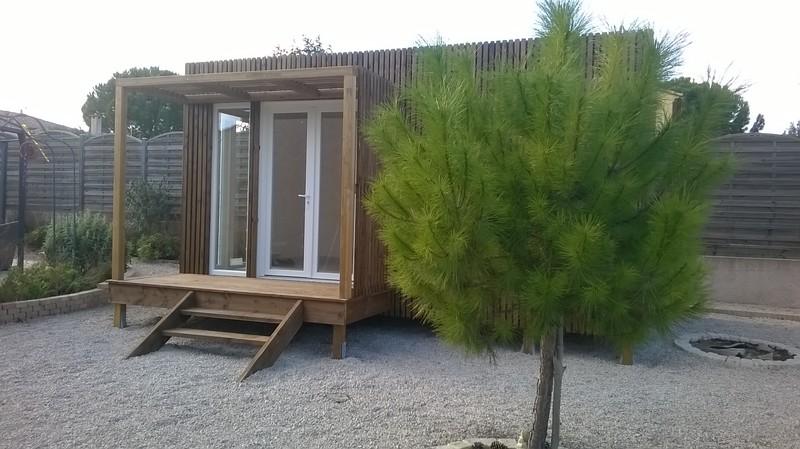 studio de studios jardin 15m² herault GK15