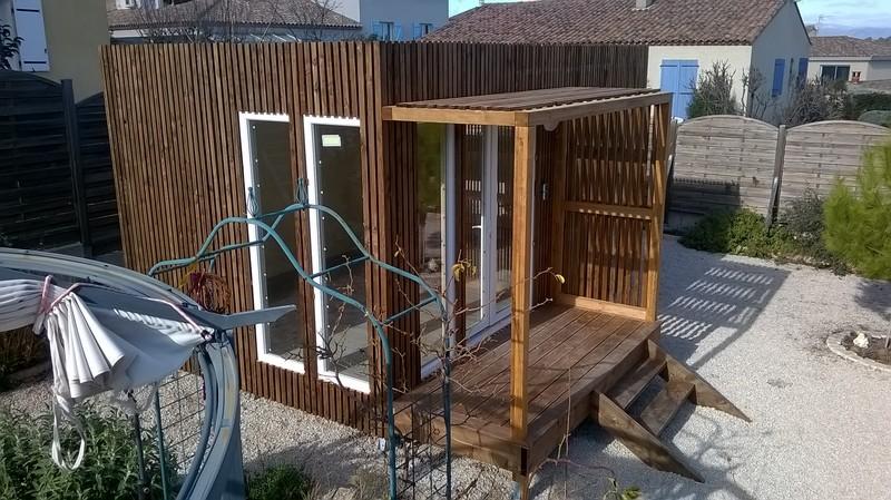 studio de studios jardin 15m² herault vue3GK15