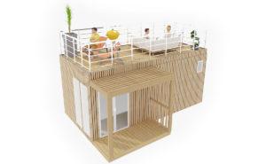 SummerKub : vue et aménagement 3D