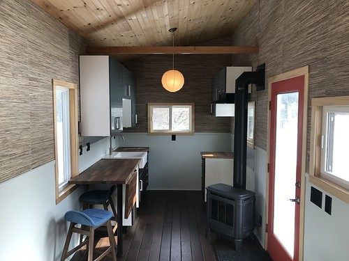 intérieur de tiny house clé en main