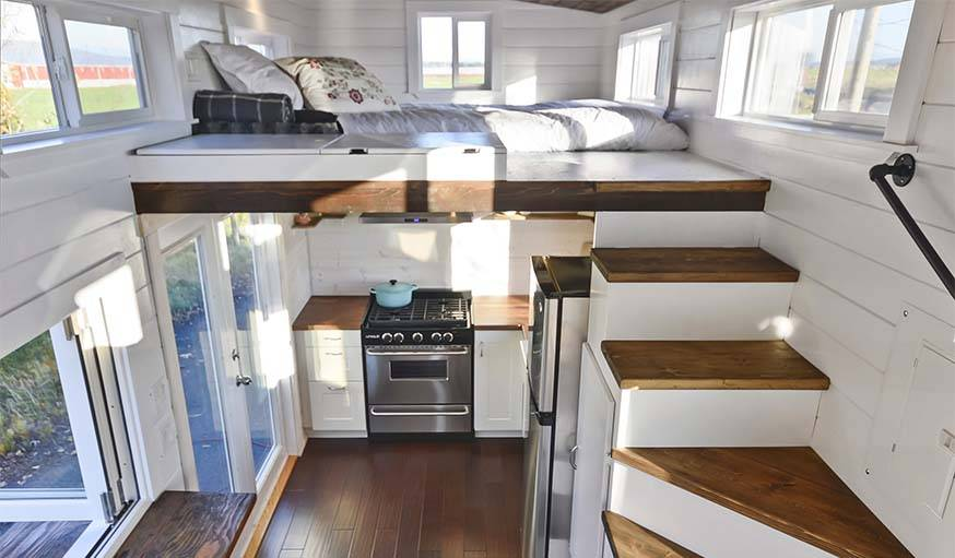 Tiny house Double ou à Mezzanine : Le guide d\'aménagement