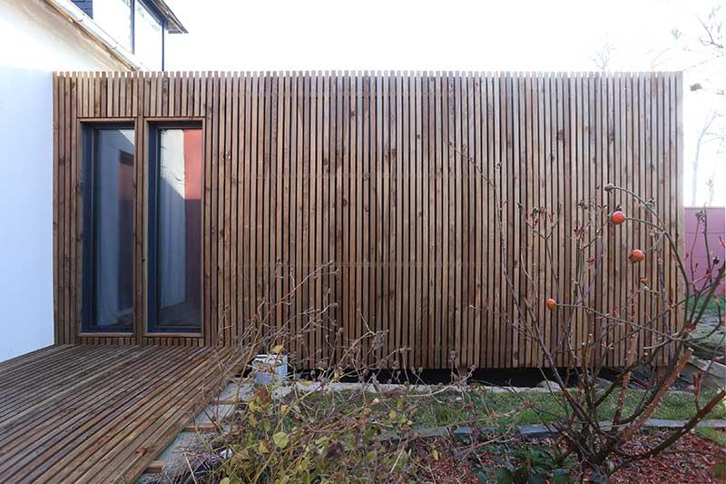 studio de jardin en bois de 20m² en Bretagne