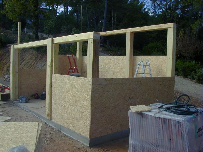 Construction Pool house en kit