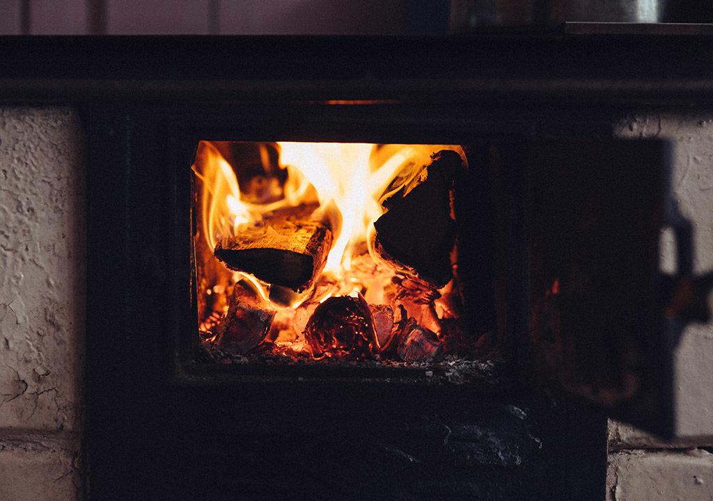 chauffage au bois dans une tiny house