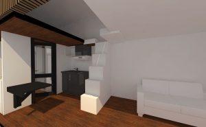 Tiny House intérieur