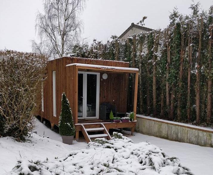 Studio de jardin en bois à louer de 20m²