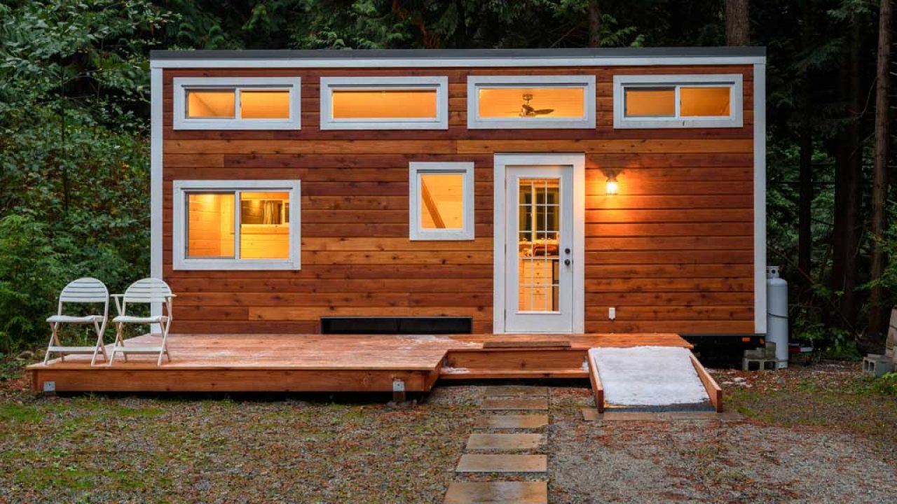 Tiny House Prix M2 tiny house : maison mobile et écologique en ossature bois