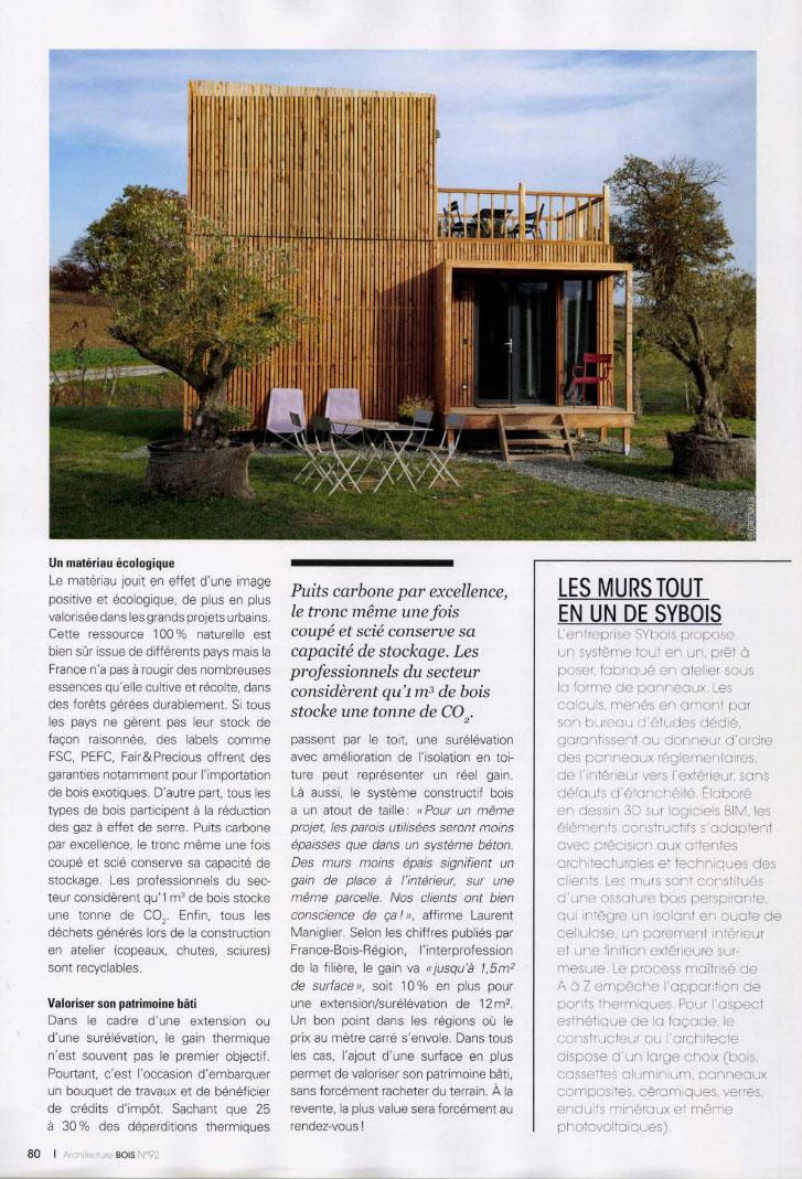 Architecture bois : réinventer sa maison - page 1