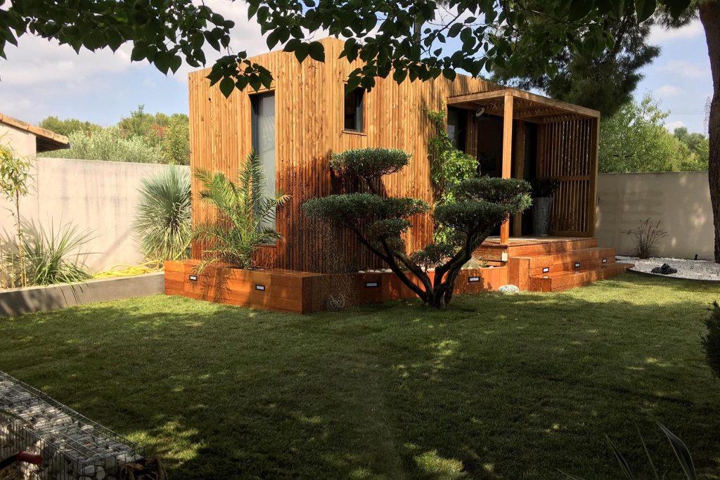 Bureau de jardin de 20m2 dans l'hérault
