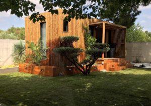 bureau de jardin en kit