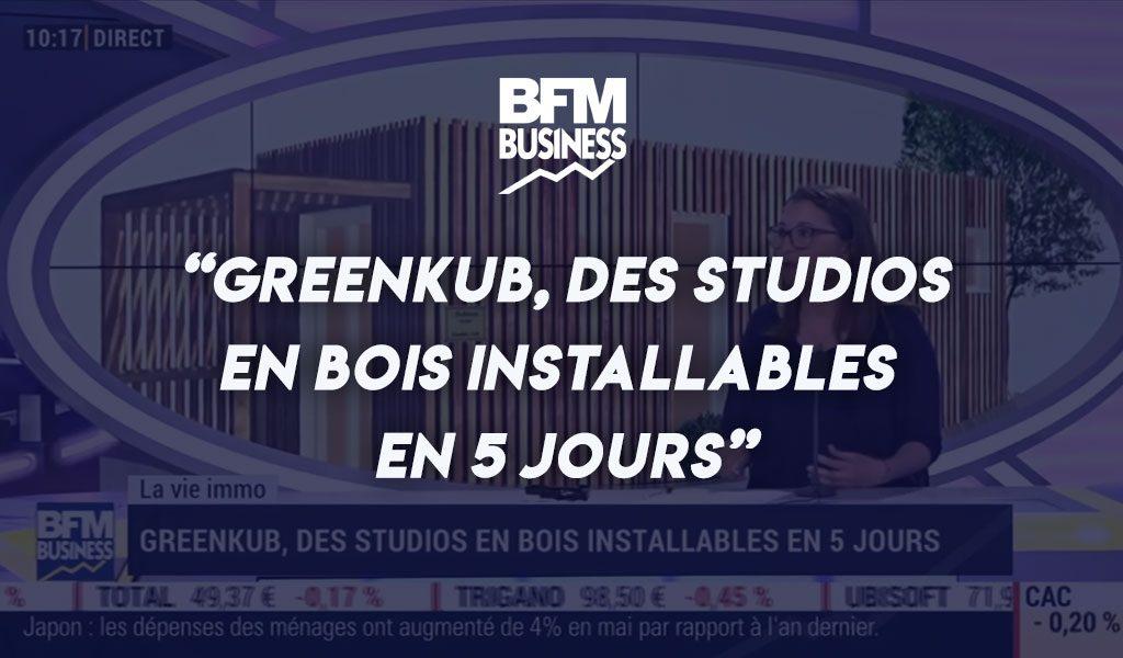 Greenkub, des studios en bois installables en 5 jours