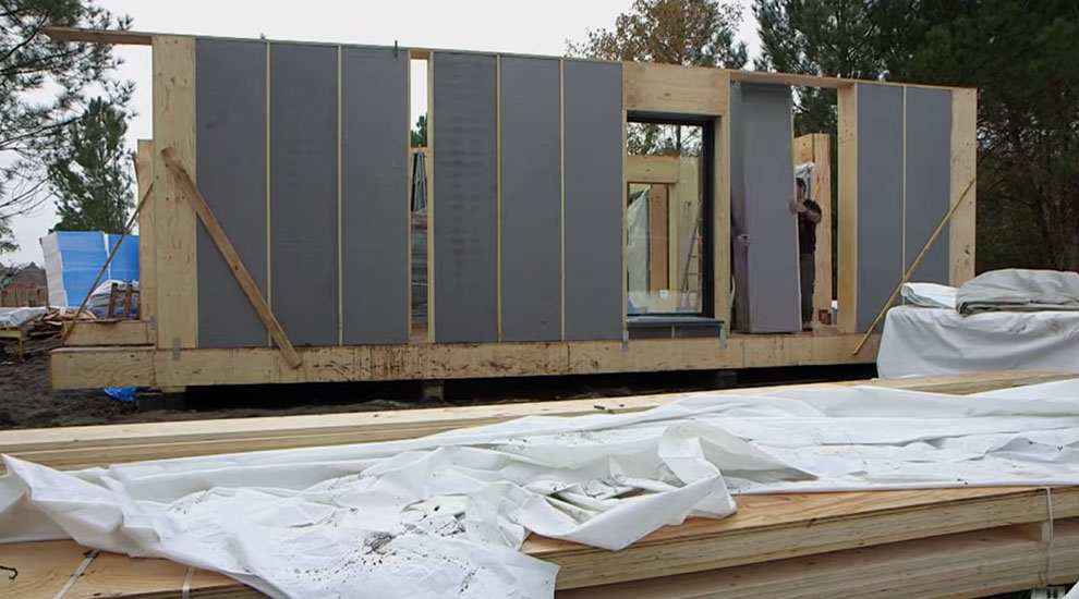 Procédé Constructif d'une Pop Up House