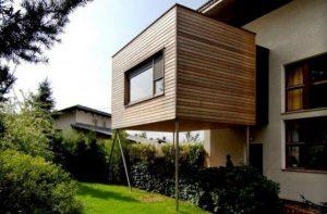 Extension en bois design
