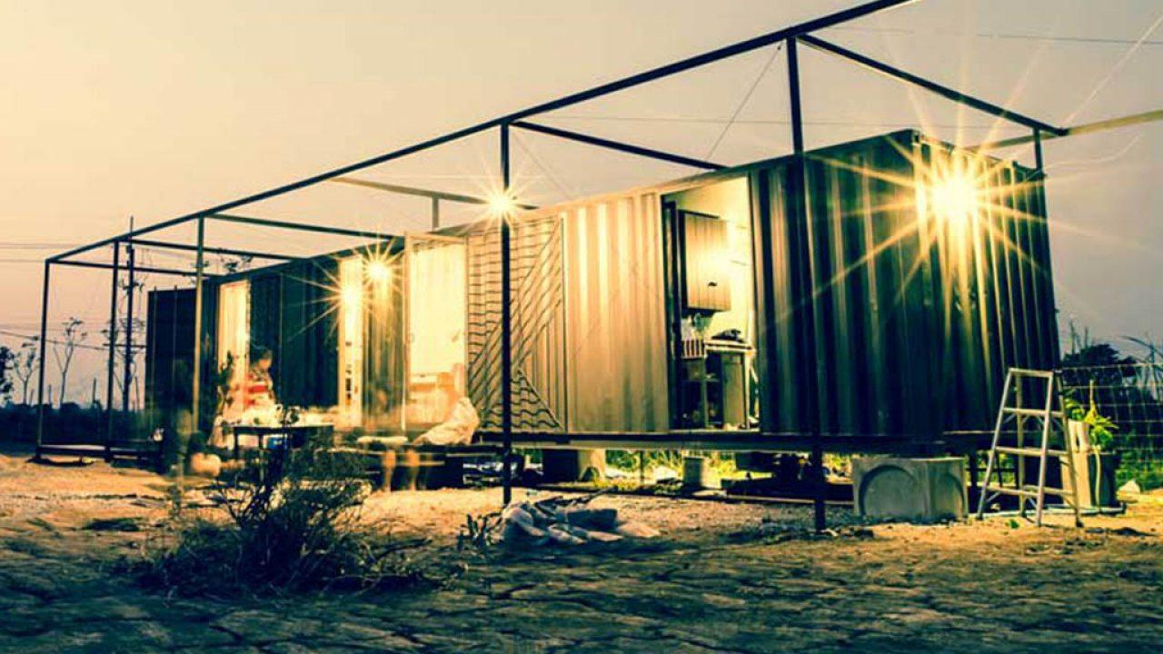 Prix Maison En Container maison container : tout savoir sur ces boites en métal aménagées